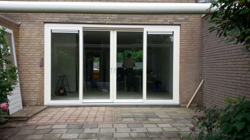 Kunststof Openslaande Deuren : Openslaande deuren projecten doko kunststof kozijnen